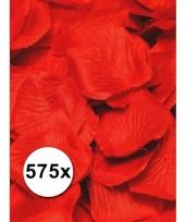 Rode rozenblaadjes van stof 575 st