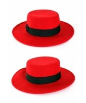 Rode spanjaard hoed