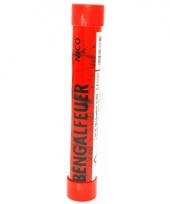 Rode vuurwerk fakkel 40 sec