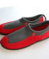 Rode waterschoenen voor mannen