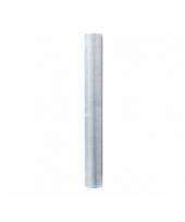 Rol organza stof zilver 36 cm breed