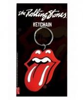 Rolling stones red lips sleutelhanger