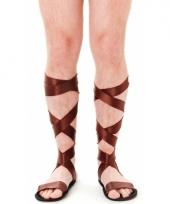 Romeinse bruine sandalen