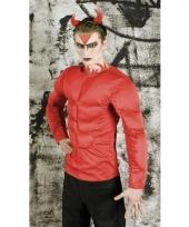 Rood duivel kostuum