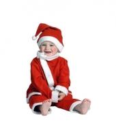 Rood kerst kostuum voor peuters