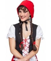 Roodkapje hoofdbandje
