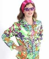 Rouge hippie blouse peace kids