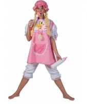 Roze baby outfit voor volwassenen