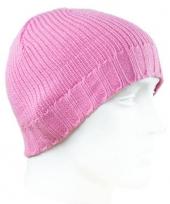 Roze dames mutsen