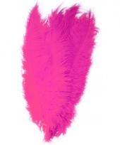 Roze decoratie veren 50 cm
