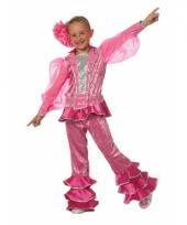 Roze disco pak voor meisjes