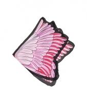 Roze flamingo vleugels voor kids