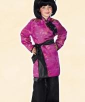 Roze geisha kostuum voor meisjes