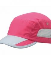 Roze grijze sportieve pet voor volwassenen
