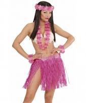 Roze hawaii verkleedset voor dames