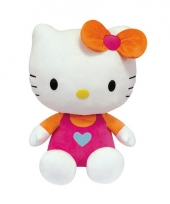 Roze hello kitty knuffels 50 cm
