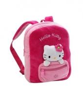 Roze hello kitty tas van pluche