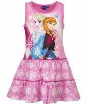 Roze jurk frozen voor meisjes