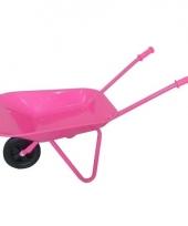 Roze kinder kruiwagentje 77 cm