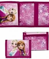 Roze kinder portemonnee van frozen