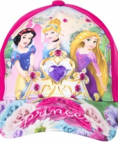 Roze kinderpet van disney princess