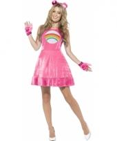 Roze lachbeertje jurkje voor dames
