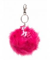 Roze my little pony sleutelhanger tashanger voor kinderen