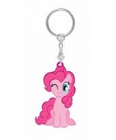 Roze pinkie pie sleutelhanger my little pony voor kinderen
