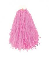 Roze pompoms 28 cm