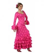 Roze spaanse jurken