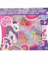 Roze speelgoed my little pony rarity 8 cm