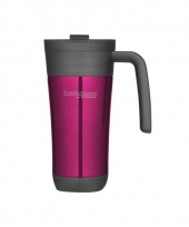 Roze thermosbekers 425 ml