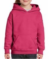 Roze trui met capuchon voor meiden