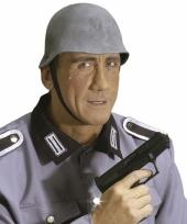 Rubberen helm duitse soldaat