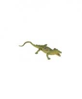 Rubberen speelgoed gaviaal krokodil 33 cm