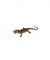 Rubberen speelgoed krokodil 33 cm