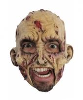 Rubberen zombie masker