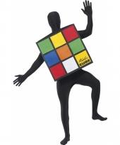 Rubiks kubus verkleed kostuum