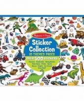 Ruimte stickers 500 stuks