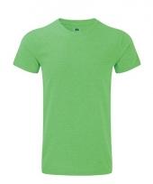 Rusell basic t-shirt groen voor mannen
