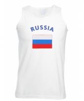 Rusland vlaggen tanktop t-shirt
