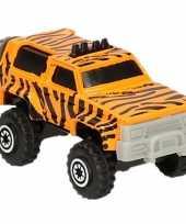 Safari auto tijger print 7 cm