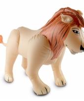 Safari thema opblaasbare leeuw