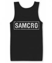 Samcro kleding heren tanktop