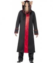 Saw pig verkleed kostuum