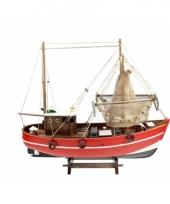 Schaalmodel boot vissers kotter 45 cm 10076824