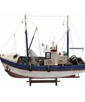 Schaalmodel boot vissers kotter 45 cm