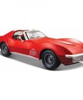 Schaalmodel chevrolet corvette cabrio 1970