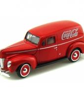 Schaalmodel ford coca cola 1940
