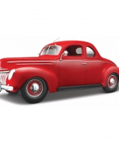 Schaalmodel ford oldtimer 1939 coupe 1 18